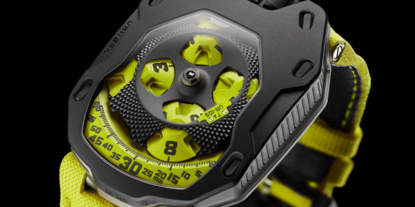 Urwerk - UR105TA Black Lemon