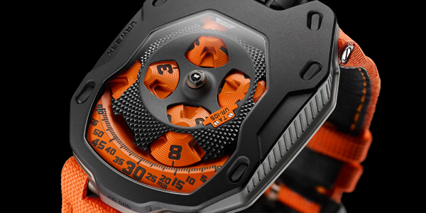 Urwerk - UR105TA Black Orange